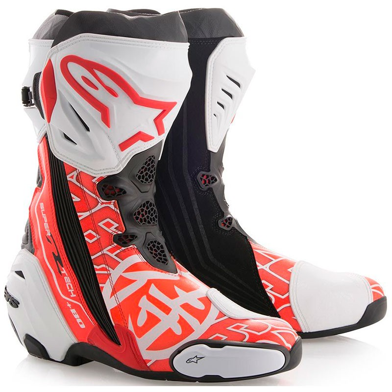 boots alpinestars supertech r samurai pedrosa marti motos. Black Bedroom Furniture Sets. Home Design Ideas