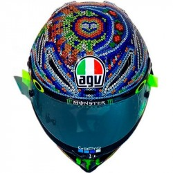 AGV PISTA GP R WINTER TEST ROSSI 2018