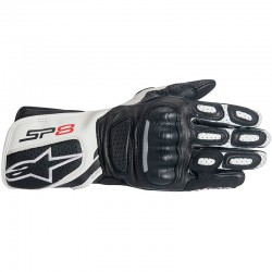 ALPINESTARS STELLA SP-8 V2 - Black - White
