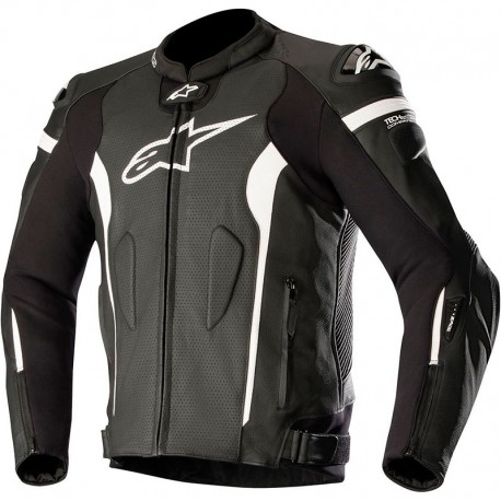 ALPINESTARS MISSILE LTHR JKT-TECH AIR COM