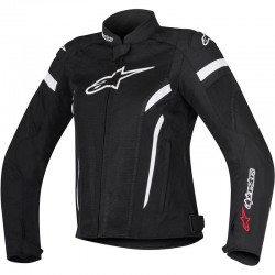 ALPINESTARS STELLA T-GP PLUS R V2 AIR - Noir - Blanc