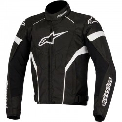 ALPINESTARS T-GP PLUS R AIR - Noir - Blanc