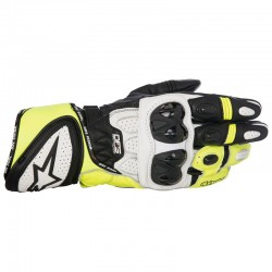 ALPINESTARS GP PLUS R - Negro - Blanco - Amarillo