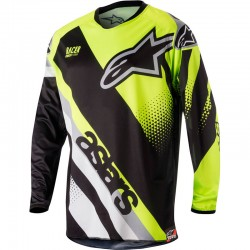 CAMISETA ALPINESTARS RACER SUPERMATIC 2018 - KYE