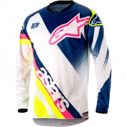 CAMISETA ALPINESTARS RACER SUPERMATIC 2018 - LFL