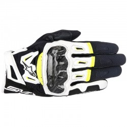 ALPINESTARS SMX-2 AIR CARBON V2 - Negro - Blanco - Amarillo