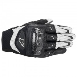 ALPINESTARS SMX-2 AIR CARBON - Negro - Blanco