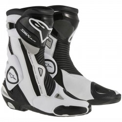 ALPINESTARS SMX PLUS - Negro - Blanco