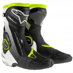 ALPINESTARS SMX PLUS - Black - White - Yello