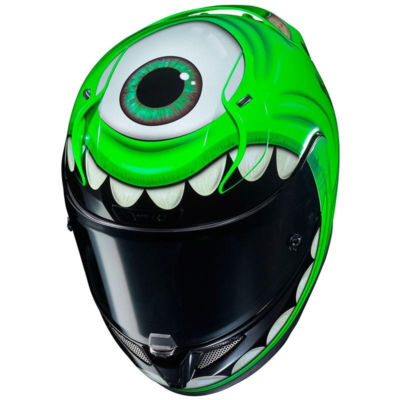 Hjc Rpha 11 >> Casco HJC RPHA 11 Mike Wazowski Disney Pixar - Marti Motos