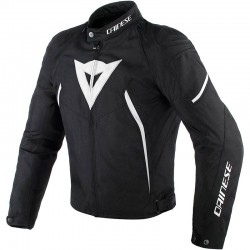 DAINESE AVRO D2 TEX LADY - Black/Black/White