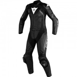 DAINESE AVRO D2 2 PIECES LADY - Black / Anthracite gray