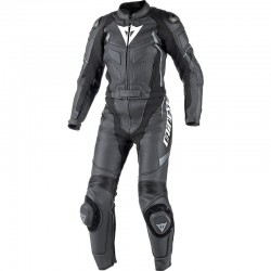 DAINESE AVRO D1 2 PIECES LADY - Black / Anthracite gray