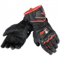 DAINESE DRUID D1 LONG - BLACK / BLACK / RED FLUO
