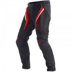 DAINESE DRAKE SUPER AIR TEX - Negro Rojo Blanco