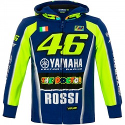 VR18 ZIP FLEECE YAMAHA RACING KID 315009