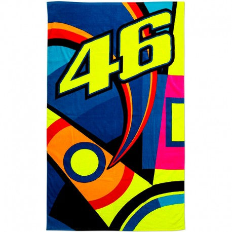 VR46 18 ROSSI BEACH TOWEL 309903