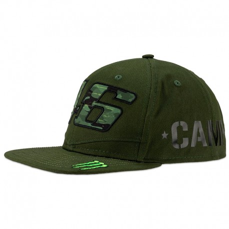 VR46 46 MONSTER CAMP ADJUSTABLE CAP