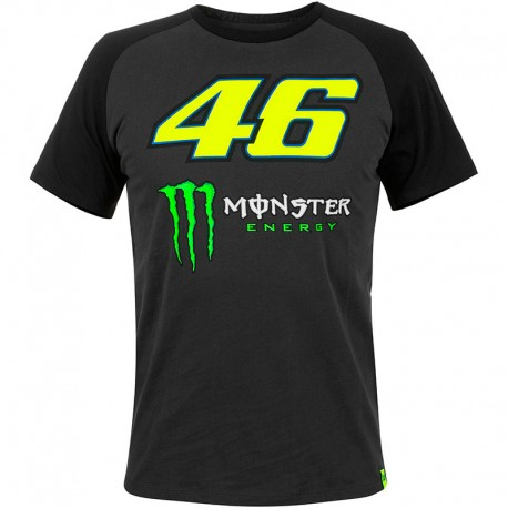 VR46 46 MONSTER RAGLAN SLEEVES T-SHIRT