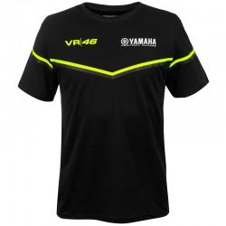 VR46 YAMAHA BLACK T-SHIRT