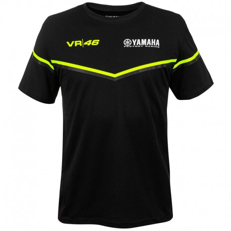 VR46 YAMAHA BLACK T-SHIRT