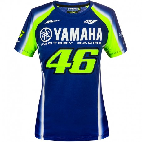 VR46 WOMAN YAMAHA VR46 T-SHIRT
