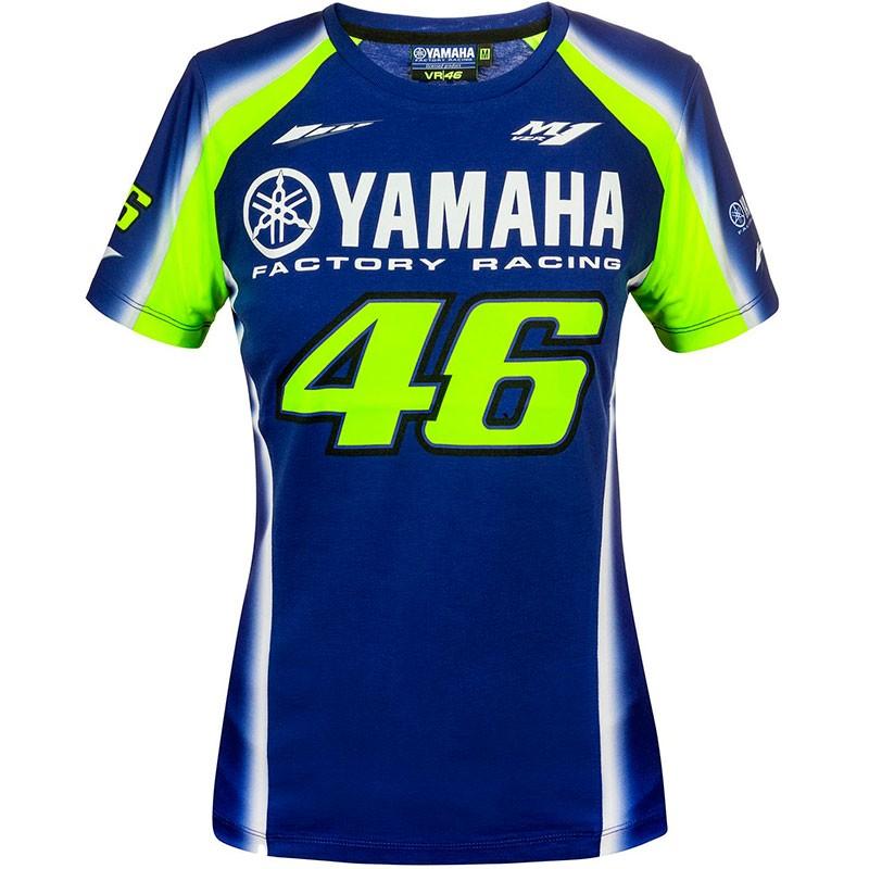 T-Shirt Femme Yamaha VR46 - Marti Motos