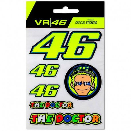 VR46 SMALL STICKERS