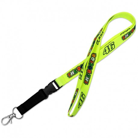 VR46 THE DOCTOR 46 NECK KEY RING
