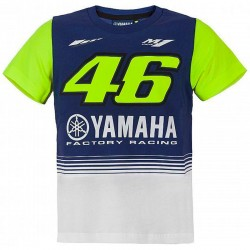 VR46 NINO YAMAHA T-SHIRT 2017 - MUL
