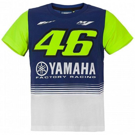 VR46 KID YAMAHA T-SHIRT 2017