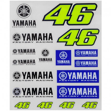 VR46 STICKERS YAMAHA BIG