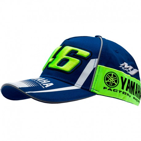 VR46 CASQUETTE YAMAHA ROSSI 2017