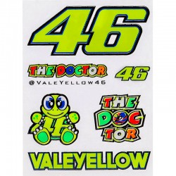 VR46 ROSSI SMALL STICKERS