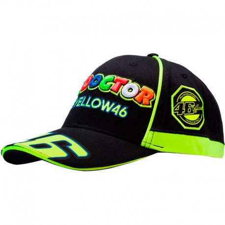 VR46 CASQUETTE VALEYELLOW 46