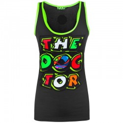 VR46 MUJER THE DOCTOR TANKTOP - GRY