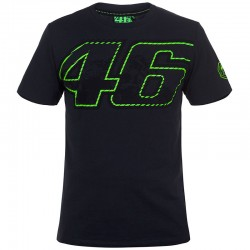VR46 46 VALE T-SHIRT - GRY