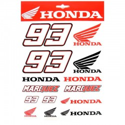 VR46 MARC MARQUEZ LARGE STICKERS - 999