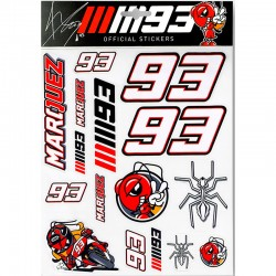VR46 MARC MARQUEZ BIG STICKERS