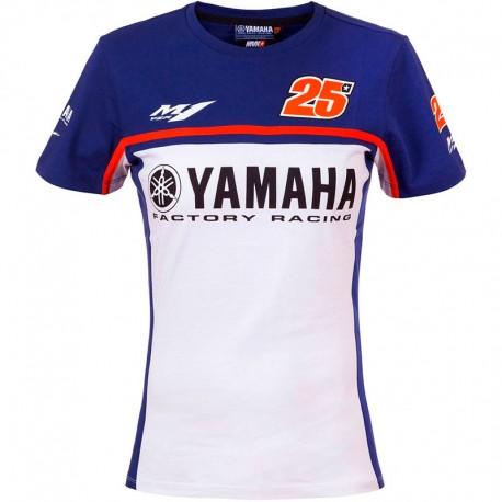 VR46 17 T-SHIRT YAMAHA VINALES WOMAN 276203