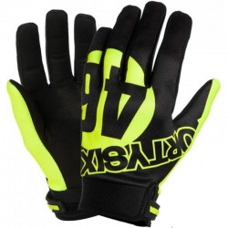VR46 GUANTES FORTYSIX - Negro