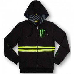 VR46 MONSTER FLEECE - Negro
