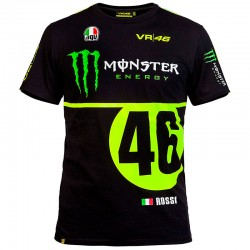 VR46 MONSTER MONZA T-SHIRT - Negro