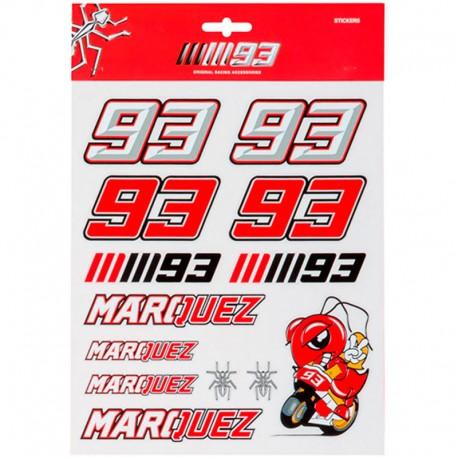 MM93 STICKERS GRANDS MARC MARQUEZ