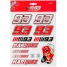 MM93 STICKERS BIG MARC MARQUEZ