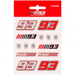 MM93 STICKERS SMALL MARC MARQUEZ