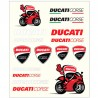 DUCATI CORSE STICKERS MEDIUM