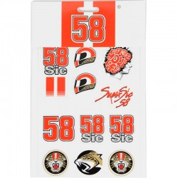 SIC58 SMALL STICKERS - MUL