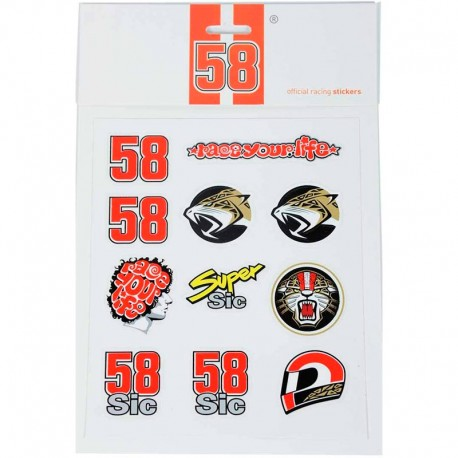 SIC58 MEDIUM STICKERS