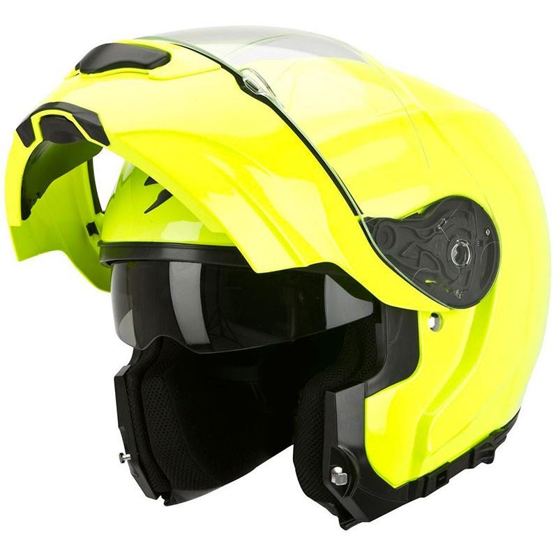 60d22855 Helmet Scorpion Exo 3000 Evo Air Neon Fluo - Marti Motos